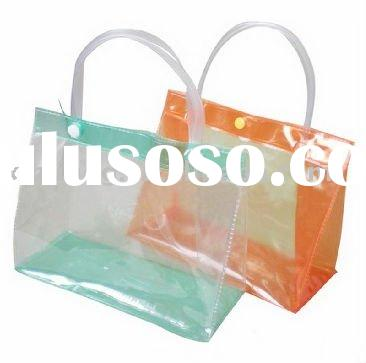 promotional High quality pvc bags with handle