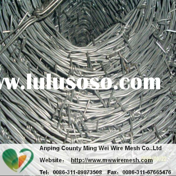 pvc coated galvanized cheap barbed wire mesh