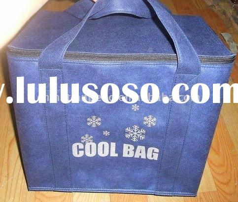 pvc hot food delivery bag /picnic cool bags,thermal disposable food bags