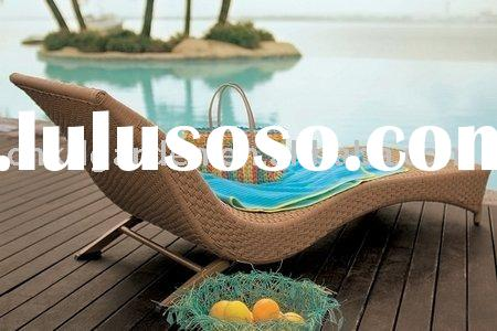 resin wicker patio furniture outdoor bed