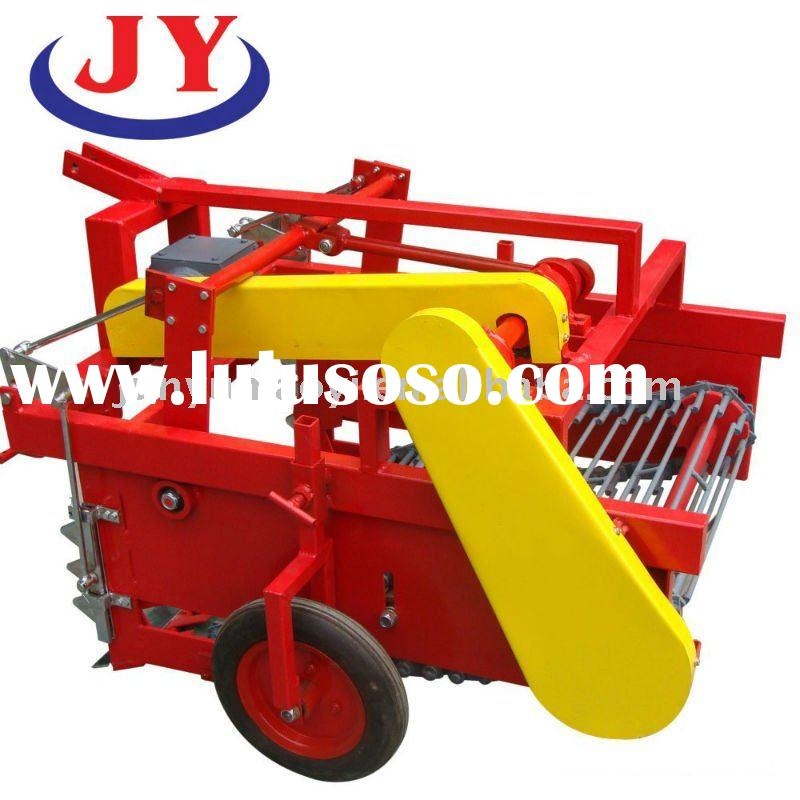semi-automatic mini potato harvesting equipment for harvesting potatoes, galics and peanuts, etc
