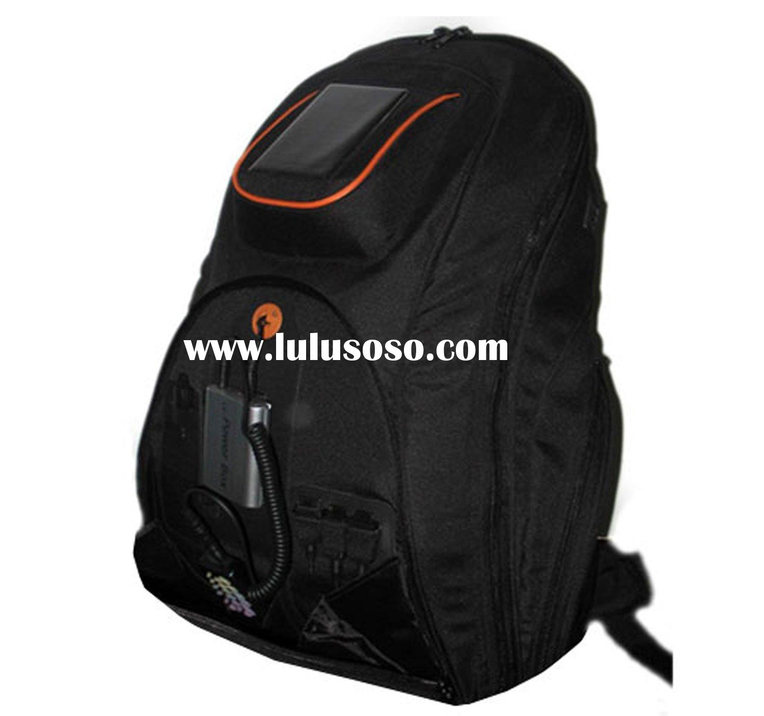 solar charger bag/solar Backpack/solar energy (GT-SPB020)