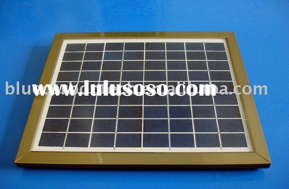 solar panel with round edges 20W