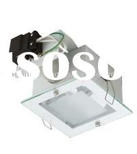 square recessed down lighting