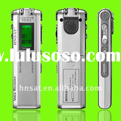 stereo rec digital voice recorder with VOS& FM