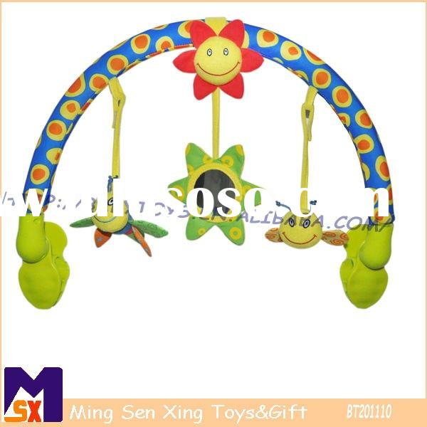 stroller arch plush toy for baby carriage&baby buggy