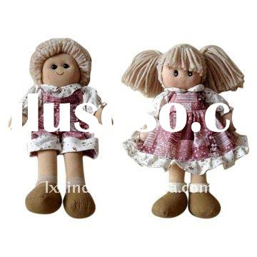 stuffed rag dolls,baby dolls,Plush Toy for Children Play