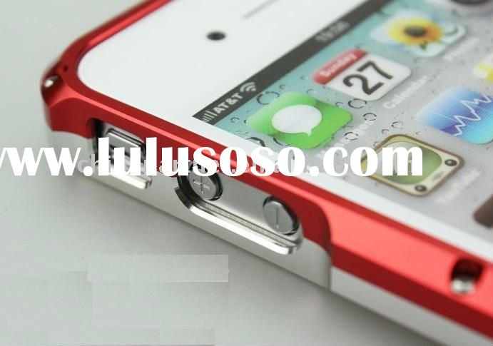 the aluminum frame bumper case for Apple iPhone 4 4S e13ctron S4