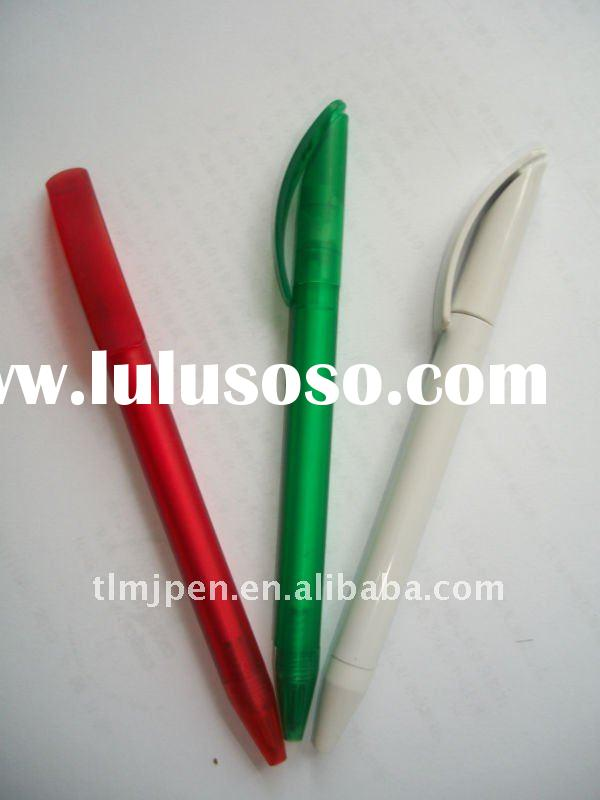 twist plastic ball pen with company logo