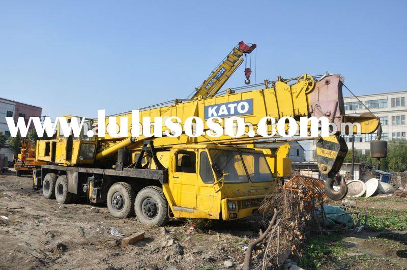 used kato crane 50ton construction machine for sale in Dubai