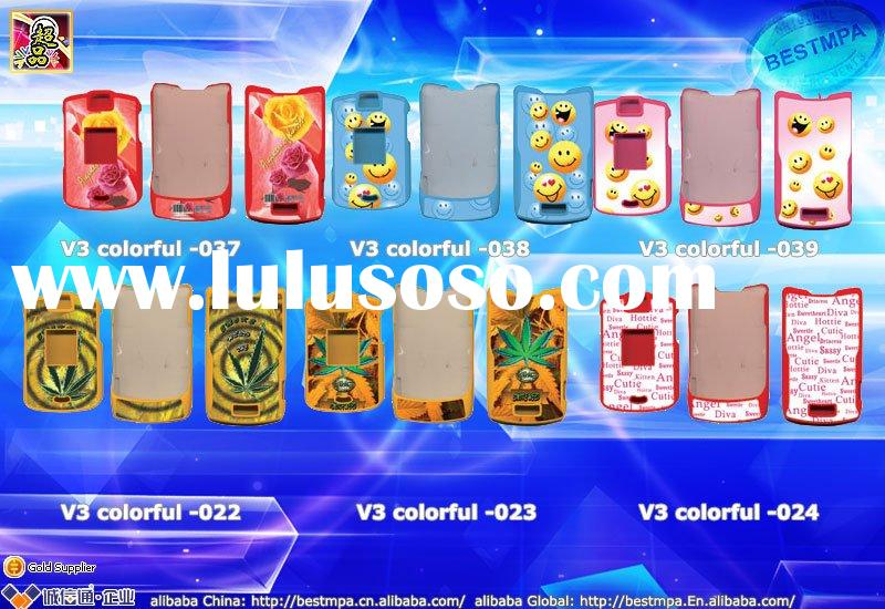 v3 colorful housing for Mobile Phone / cell phone Housing / colorful cover