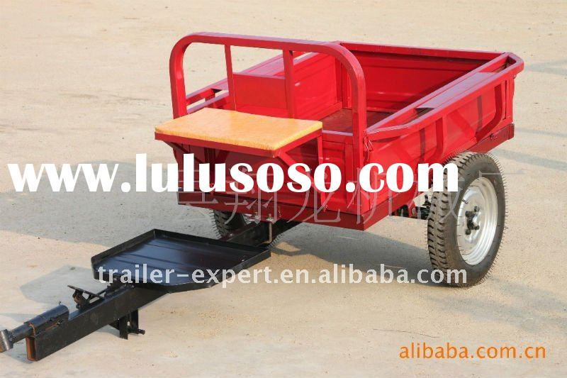 walking tractor and its attached machinery ,agricultural trailer/ walking tractor trailer