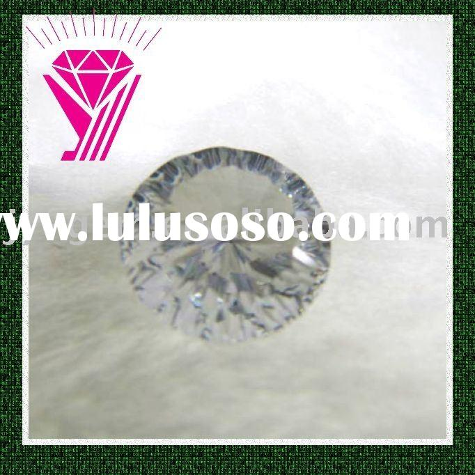 white clear cubic zirconia cz gems stone for jewlery making