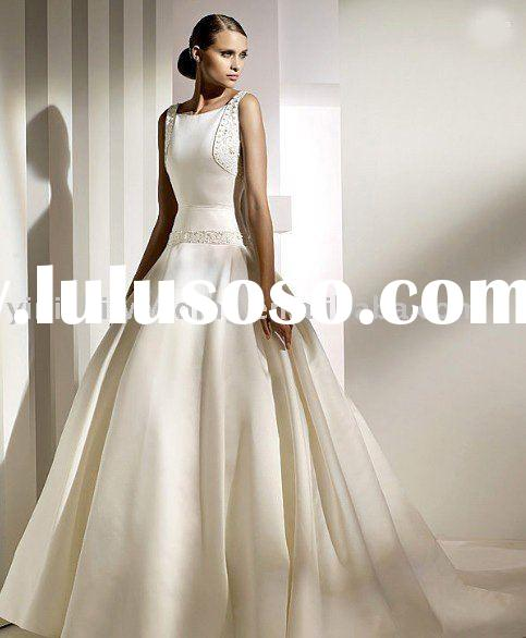 yinishi 2010 new style sleeveless floor-length graceful wedding dress bridal dress wedding gown PR84