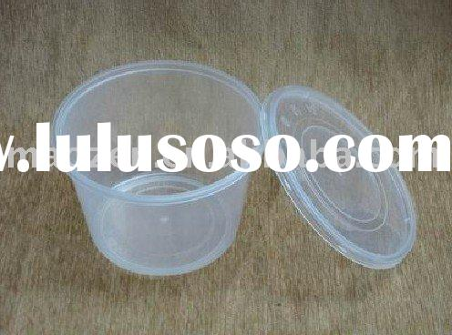 1000ml/950ml/750ml/450ml/330ml Round Disposable Food Container
