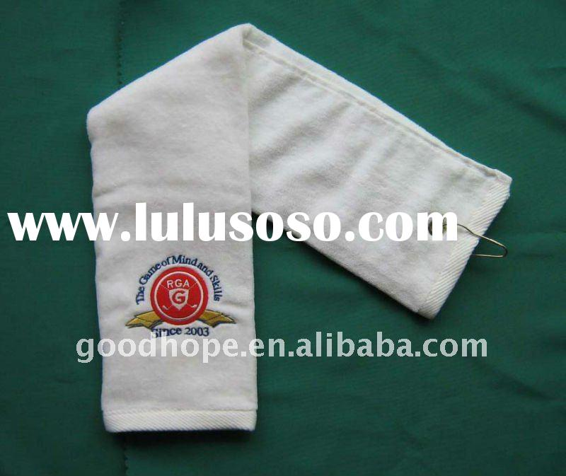 100% cotton terry golf towel/sport towel