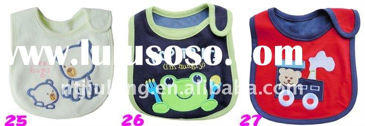 100 cotton terry towel fabric baby bib