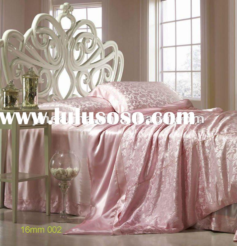 100% mulberry Silk bedding set duvet cover bed sheet set