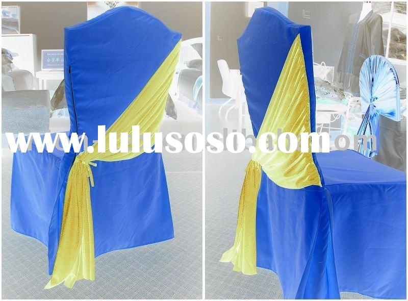 100% polyester banquet or wedding chair covers (UT-WU-1006201)