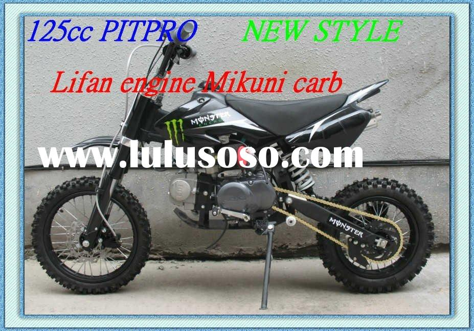 125cc Pit bike Manual clutch 1 down 3 up Upside down front fork