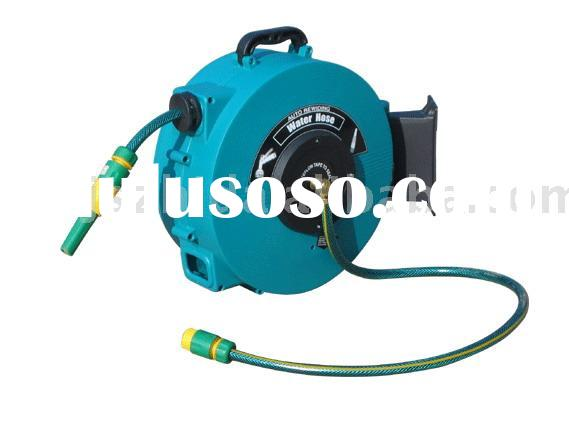 15m automatic rewind water hose reel