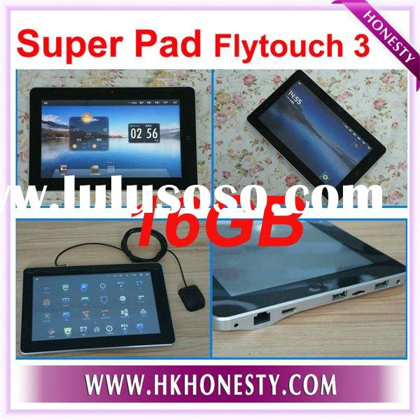 "16GB Flytouch 3 Super Pad Android 10.2""infotmic X220 GPS"