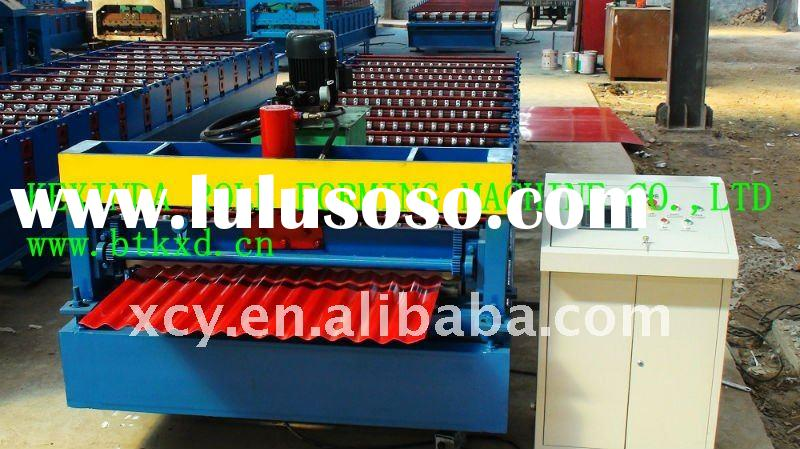 18-76-1088 corrugated roof panel roll forming machine