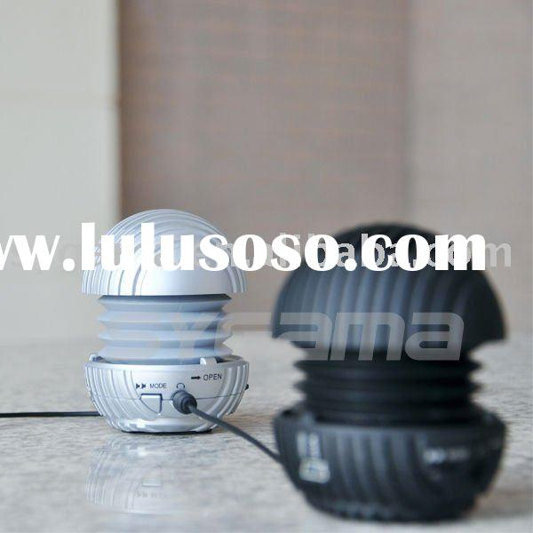 2011 SYGAMA Portable Mini Speaker with SD Card Reader and as Gifts