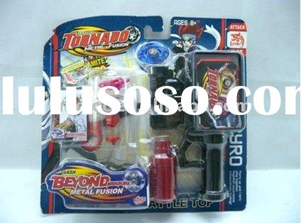 2011 new beyond metal fusion,tornado,super gyro,battle online,battle spin top,beyblade alloy spin to