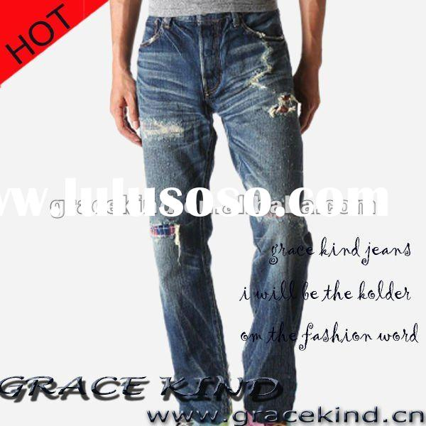 2012 World Famous Classic Twill Denim Jeans Wear For Men