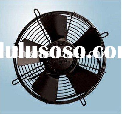 250mm axial cooling fan with external rotor motor