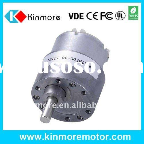 2.5V High Torque Low rpm DC Reduction Gear Motor for Vavles