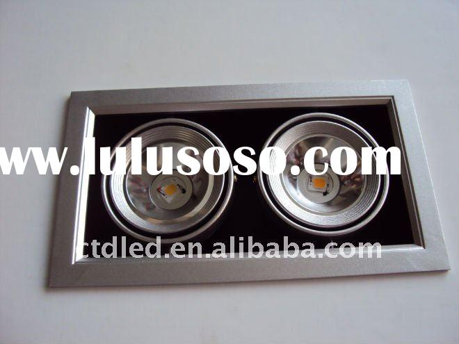 2*6W LED AR70 BA15D square downlight