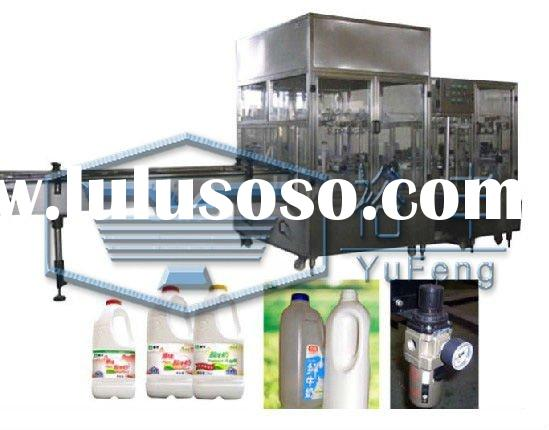 2 in 1 bottle milk filling and capping machine