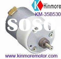 35mm 12V DC electric gear motor with special end cap(KM-35B530)
