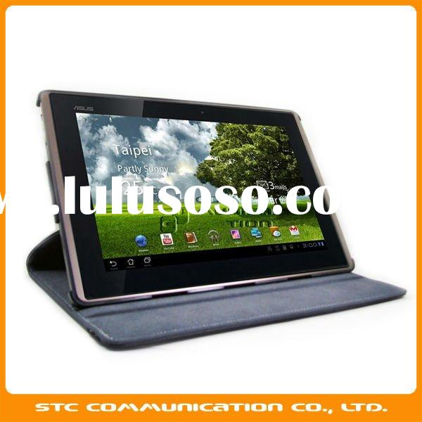 360 degree Rotating Leather cover for ASUS Transformer TF101, standing cover for ASUS Eee PAD Tablet