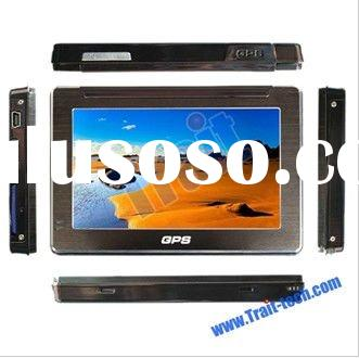 4.3 inch TFT touch screen GPS With FM Transmitter and SD Card Containing IGO Map
