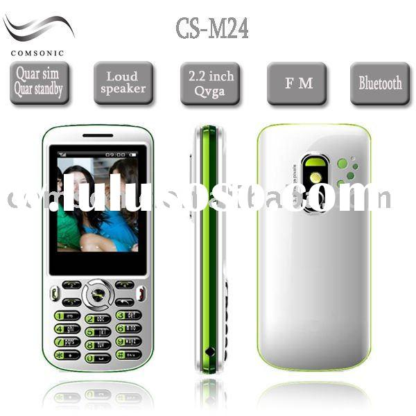 4 sim mobile phone 4 Sim card cell phone