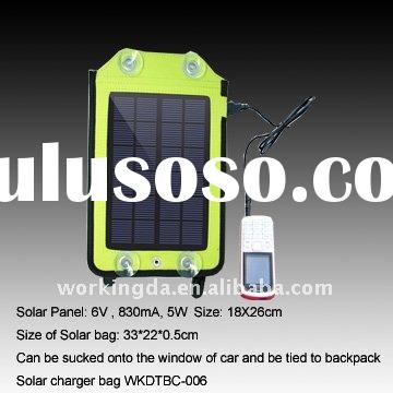 5W Waterproof Portable Solar Mobilephone Charger for Mobile Phone