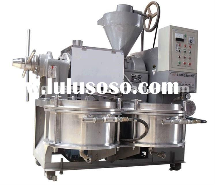 6YL120 big automatic screw oil press machine for soy cooking oil
