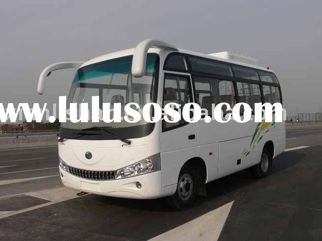 6mt bus of two fuel system CNG Bus for sale