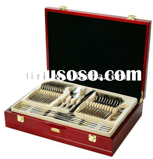 cutlery set wooden box, cutlery set wooden box Manufacturers in ...