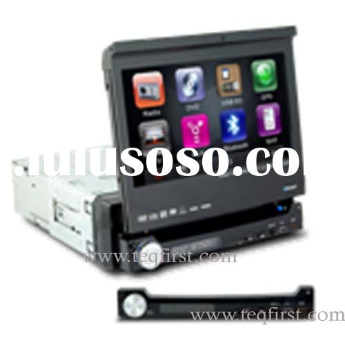 7 Inch Touch Screen Car DVD Player With GPS / Bluetooth / RDS/SD card USB/Detachable front panel