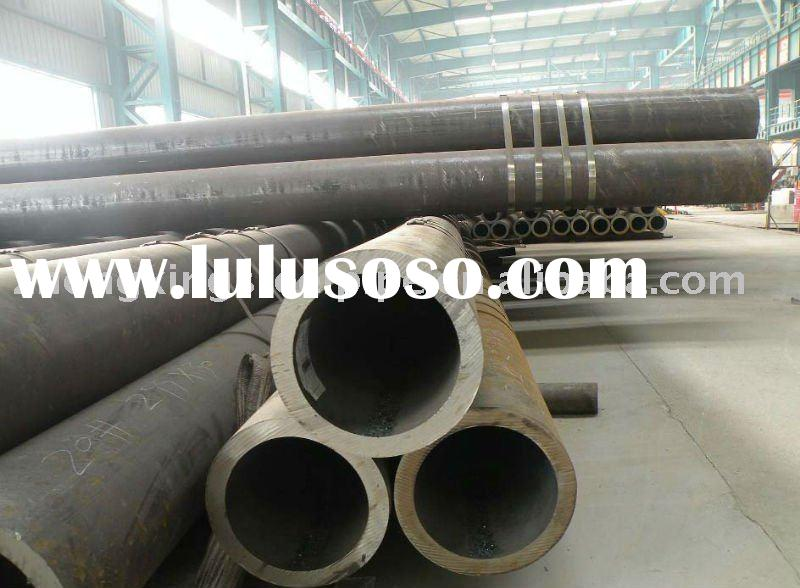ASTM A106/A53/API 5L GR.B carbon seamless steel pipe in stock