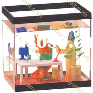 Acrylic fish tank / Acrylic product - Acrylic Magazine rack holder/card rack holder/counter display/