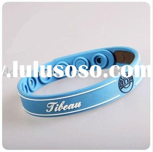 Adjustable Sport silicone promotional wristband