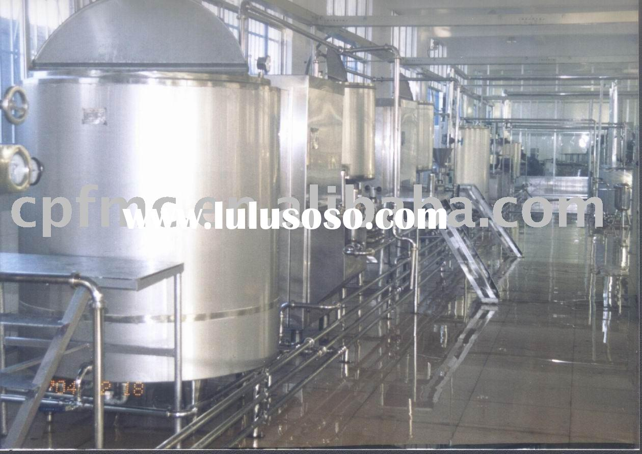 Almond milk & protein powder & oil production line