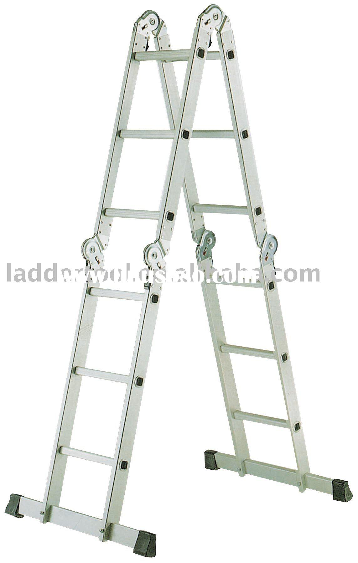 Aluminum Folding Ladder Aluminum Folding Ladder