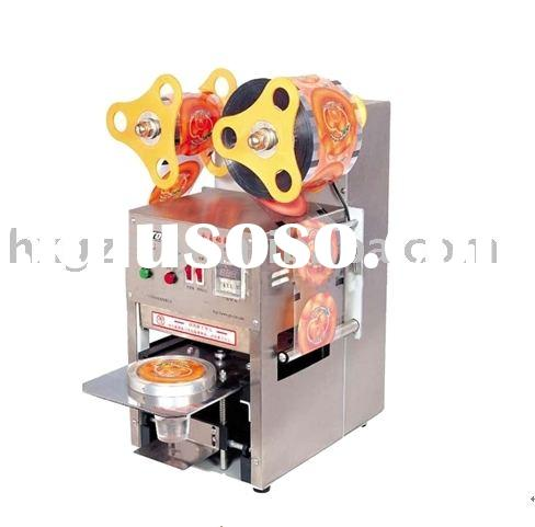 Automatic Bubble Tea Cup Sealing Machine