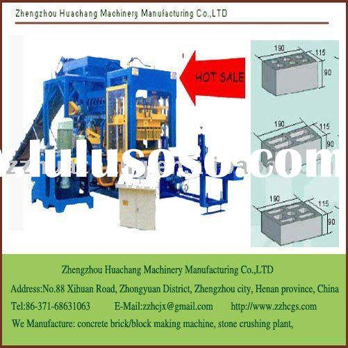 Automatic Concrete Brick/Block Making Machine, Multy purpose use